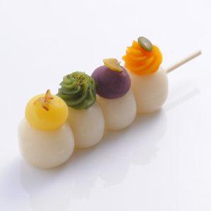 秋冬4種あん  (Four Kinds of Bean Paste)